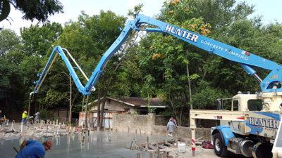 Concrete Boom Pump